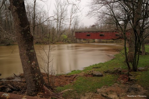 Built in 1876, the last covered bridge in Owen County