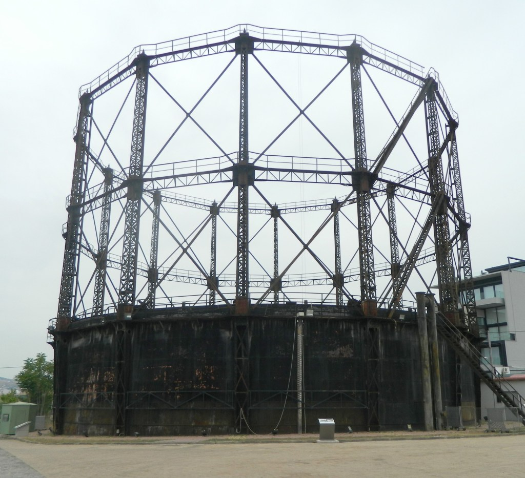 Historic Gasholder Technopolis Athens