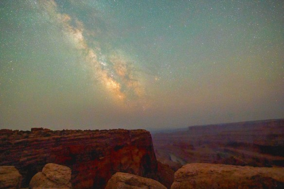 Milky Way at Dead Horse Point State Park