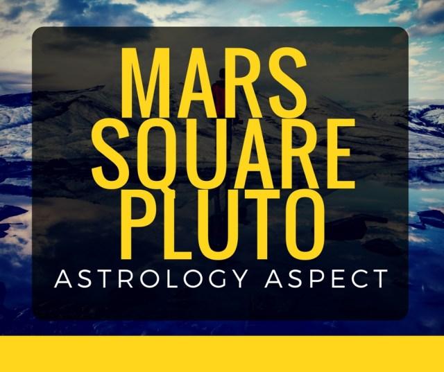 mars square pluto