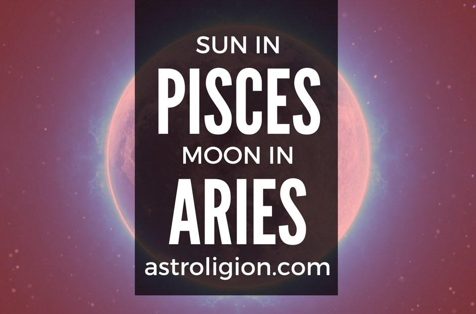 PISCES SUN ARIES MOON