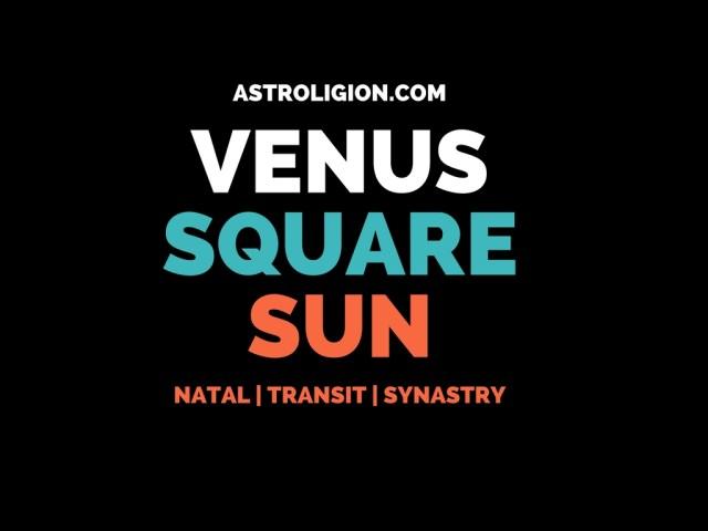 venus square sun