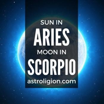aries sun scorpio moon