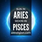 aries sun pisces moon