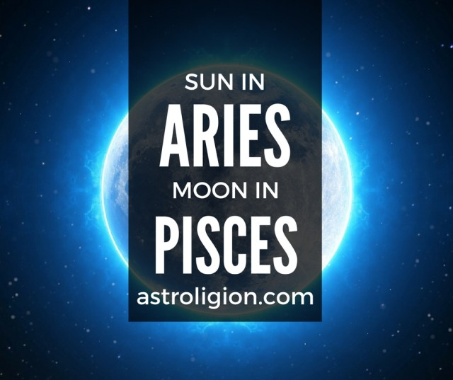 aries sun pisces moon