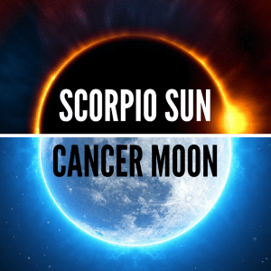 Scorpio Sun Cancer Moon