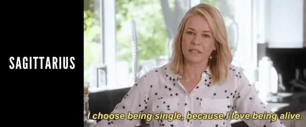 why sagittarius is single