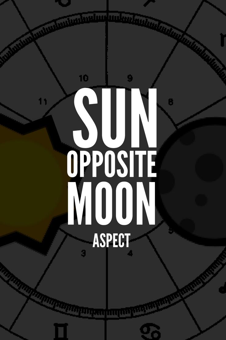 Moon Opposite Sun – Conflict of Interests ?☀️