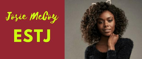 Josie McCoy MBTI - ESTJ