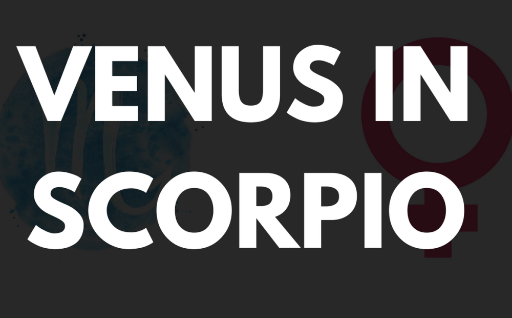 Venus in Scorpio Woman and man | astroligion com