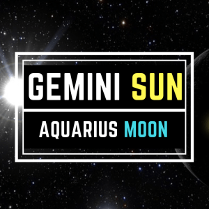 Gemini Sun Aquarius Moon Personality