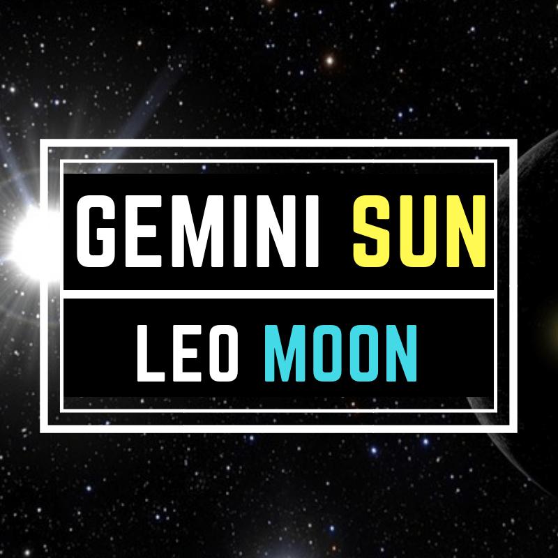 "Gemini Sun Leo Moon –  ""The Director"""