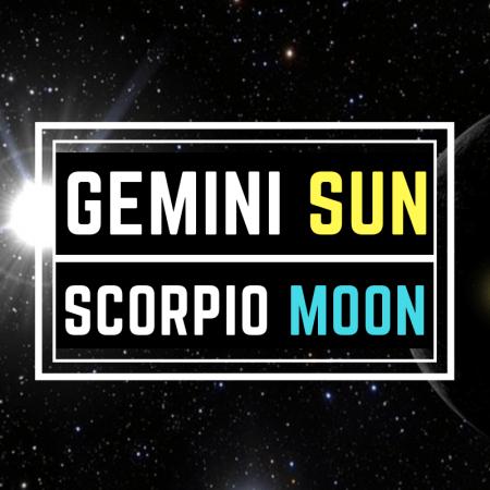 Gemini Sun – Scorpio Moon Personality