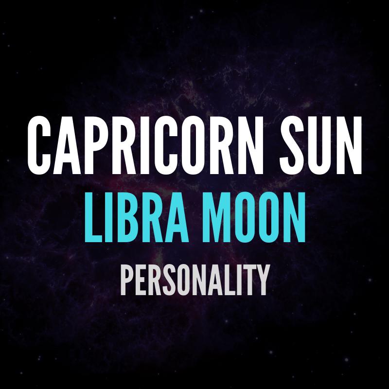 Capricorn Sun Libra Moon Personality | astroligion com