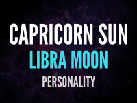 sun in capricorn moon in libra