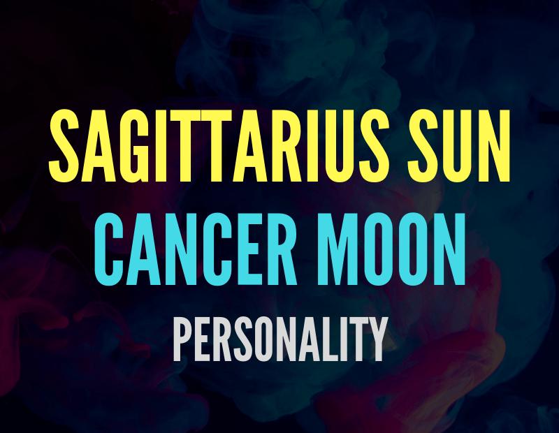 sun in sagittarius moon in cancer
