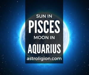 pisces sun aquarius moon personality