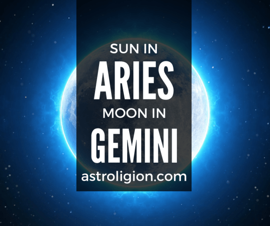 Aries Sun Gemini Moon Personality