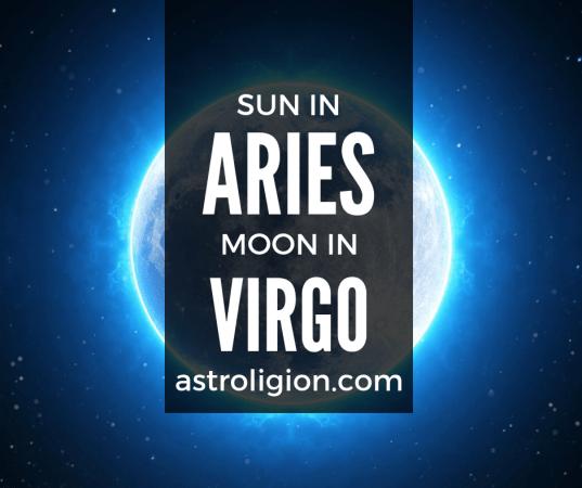 Aries Sun Virgo Moon Personality