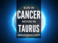 sun in cancer moon in taurus