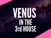 venus in the 3rd house