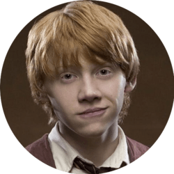 ron weasley mbti
