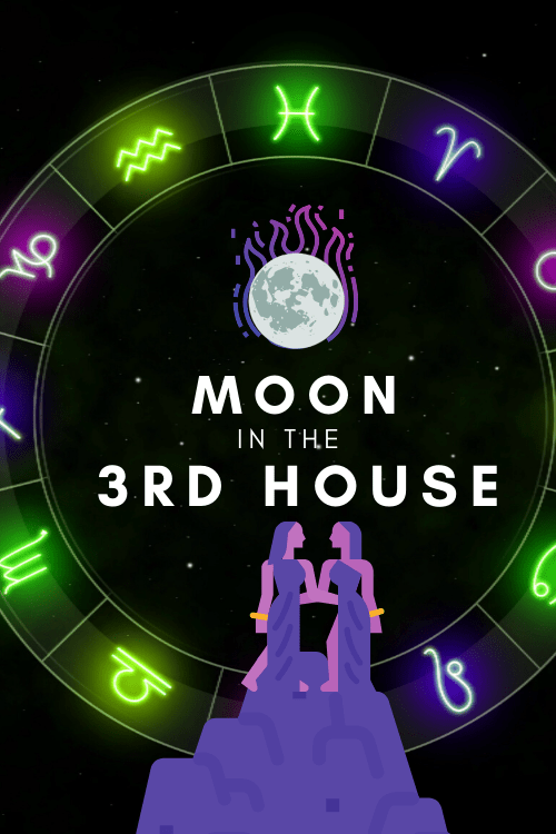Moon in the 3rd House- Intuitive Communicator