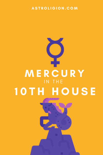mercury in 10th house pinterest