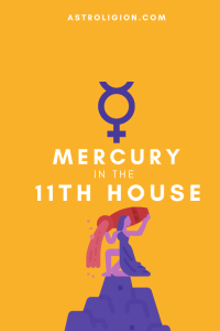 mercury in 11th house pinterest