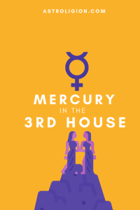 mercury in 3rd house pinterest