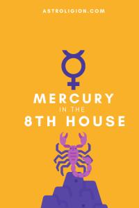 mercury in 8th house pinterest