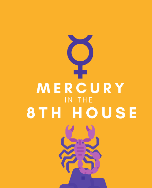 mercury in 8th house pinterest