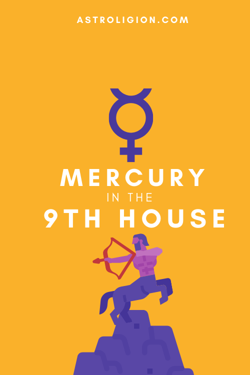 Mercury in the 9th House – Boundless Curiosity