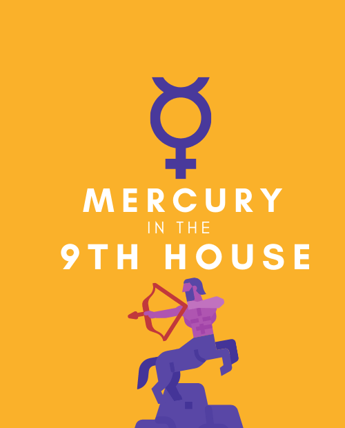 mercury in 9th house pinterest