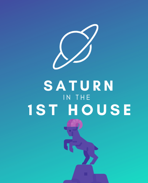 saturn in the 1st house pinterest