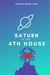 saturn in the 4th house pinterest