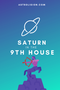 saturn in the 9th house pinterest
