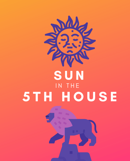 sun in the 5th house pinterest