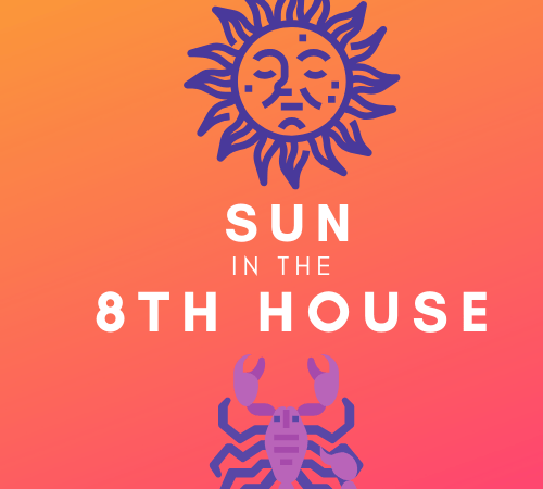 Sun in the 8th House – Volcanic Willpower