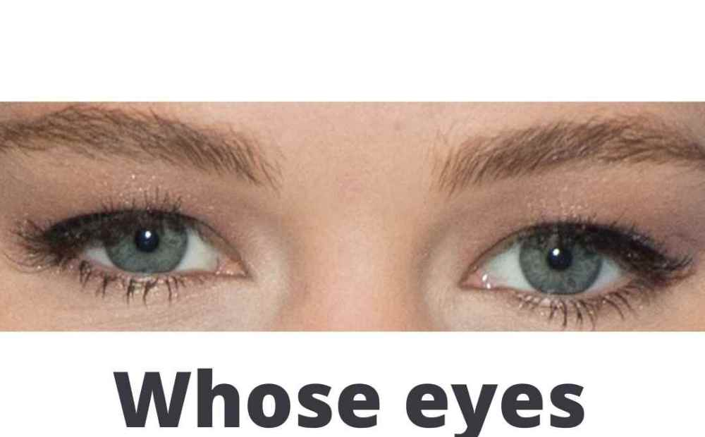 Can You Identify These Famous People Based on Their Eyes?