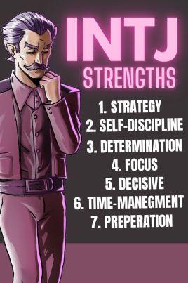 intj strengths pinterest