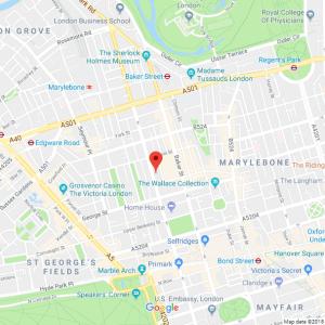 Map of London address