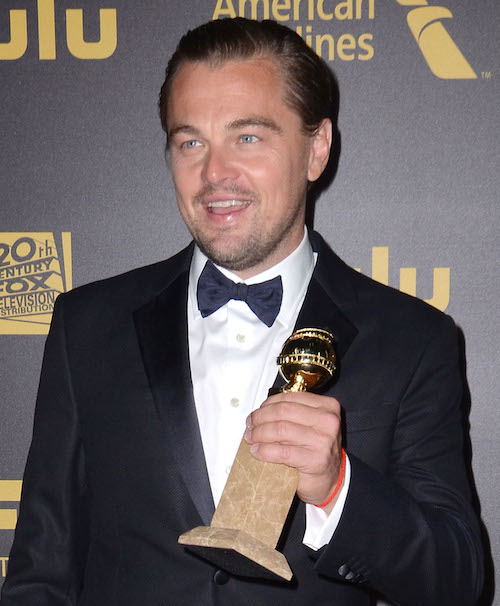 Celebrities attend FOX Golden Globes Awards Party 2016 S sponsored by American Airlines held at Beverly Hilton. Pictured: Leonardo DiCaprio Ref: SPL1206946  100116   Picture by: AdMedia / Splash News Splash News and Pictures Los Angeles:310-821-2666 New York:212-619-2666 London:870-934-2666 photodesk@splashnews.com