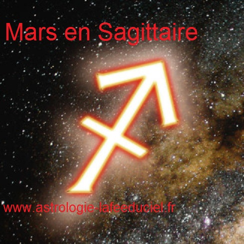 Mars en Sagittaire