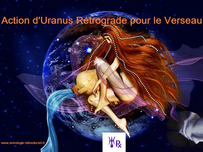 L'action de la rétrogradation d'Uranus pour le signe du Verseau