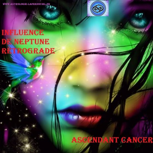 Ascendant Cancer : Influence de Neptune Rétrograde