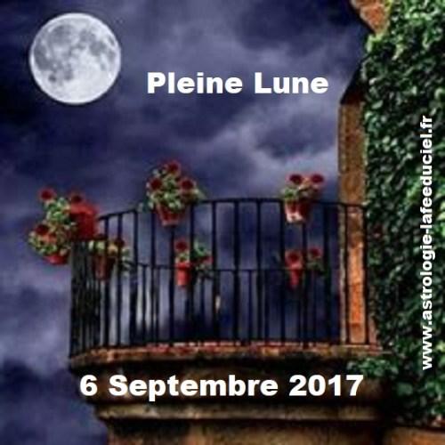 Pleine Lune du 6 Septembre 2017 ( en mode écriture )