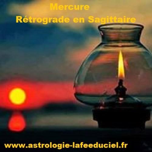 Mercure rétrograde en Sagittaire - en mode écriture-