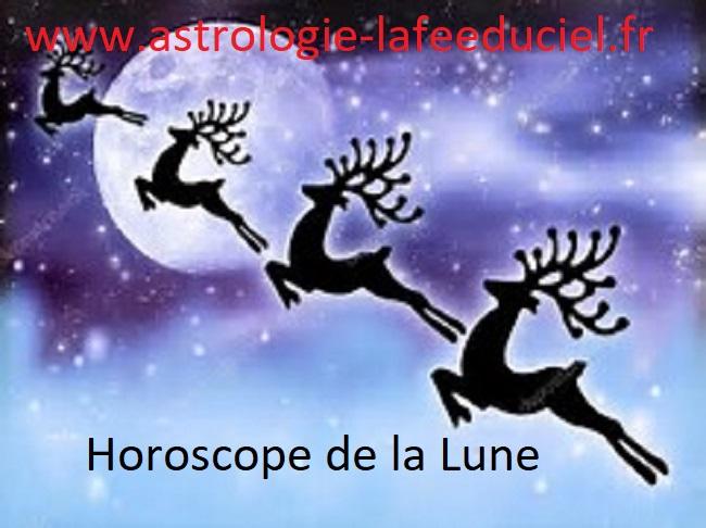 Horoscope de la Lune du 23 Décembre 2017 - en mode écriture-