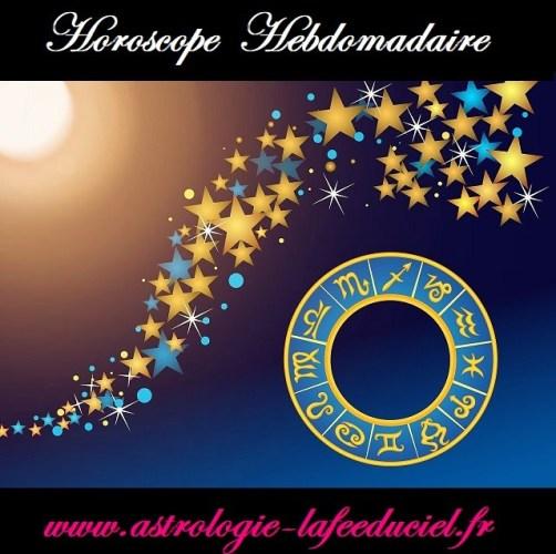 Horoscope de la semaine du 26 Mars au 1er Avril 2018 - en mode écriture-